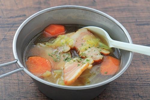 コンソメ 白菜 スープ