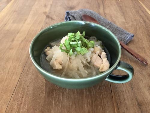 「大根の食べるスープ」